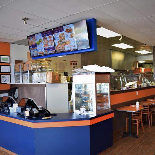 Inside of Cottage Inn Pizza West Lansing, MI