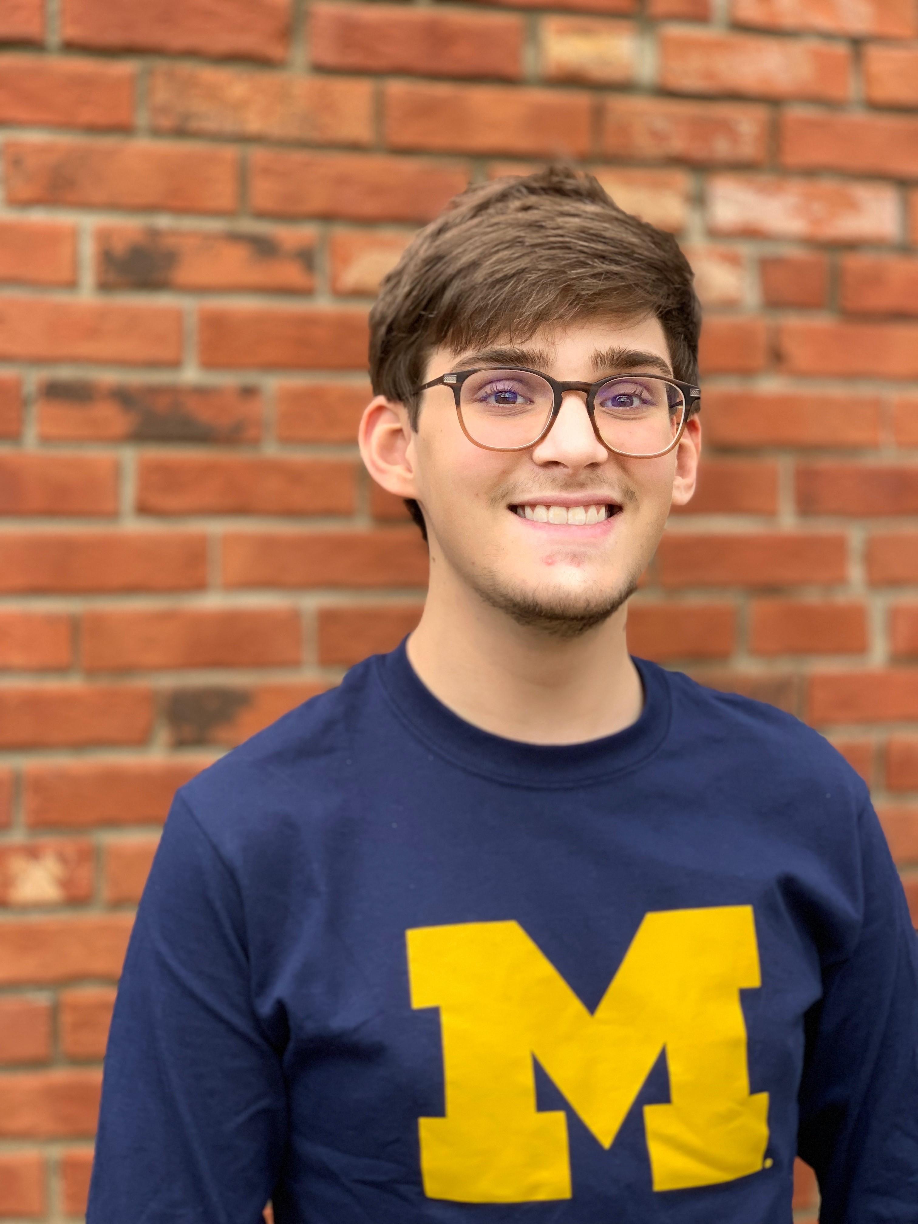 2018 Cottage Inn Scholarship Winner, Alexander Koons