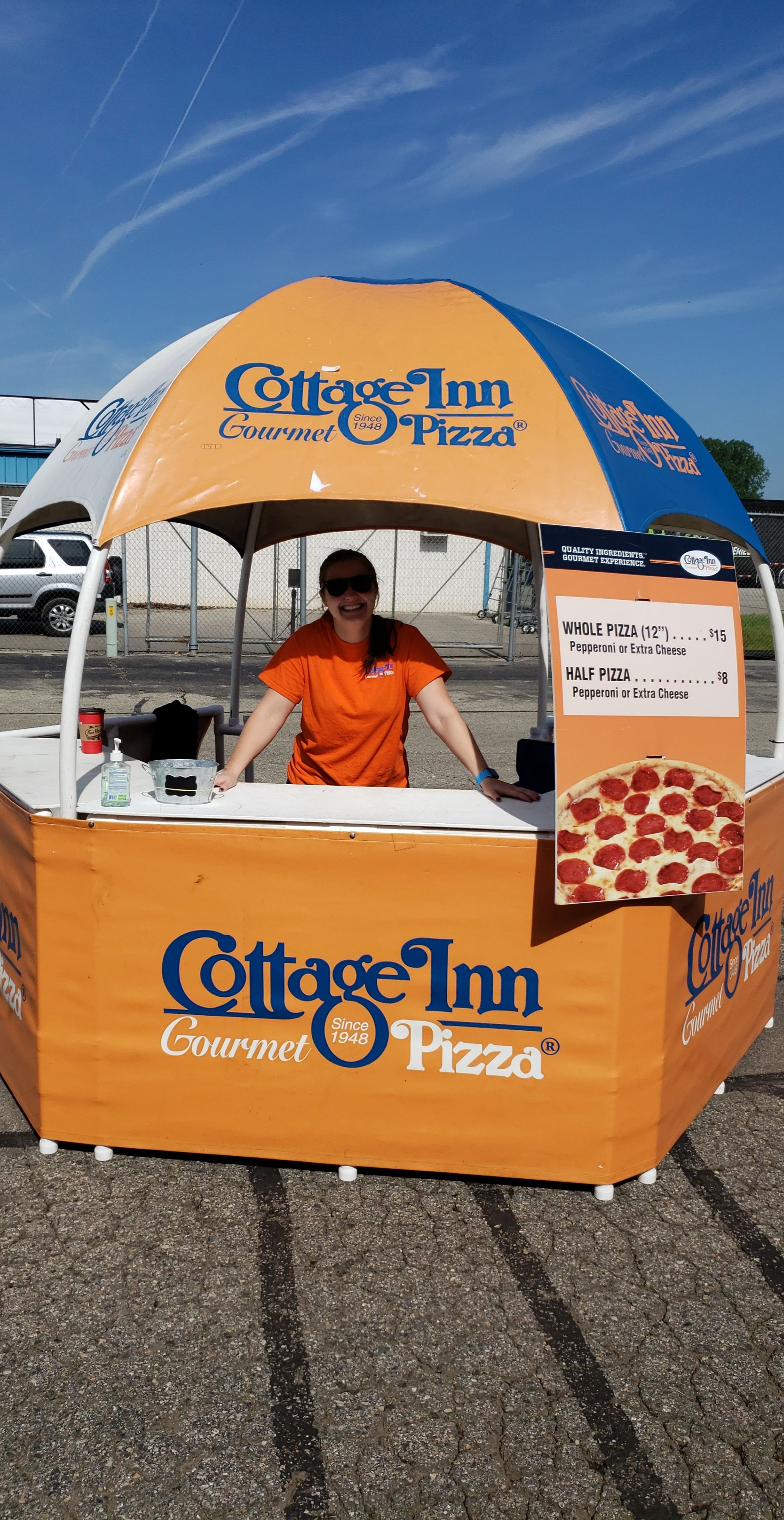 Cottage Inn Pizza at the Michigan International Speedway