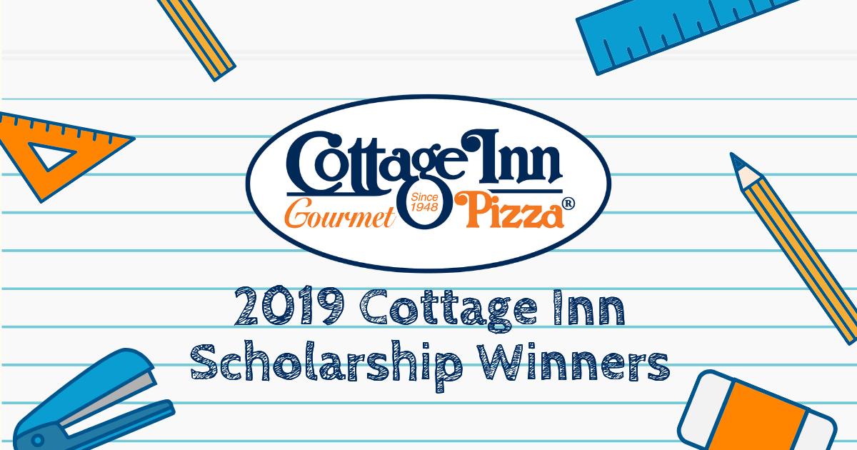 2019 Cottage Inn Scholarship Winners