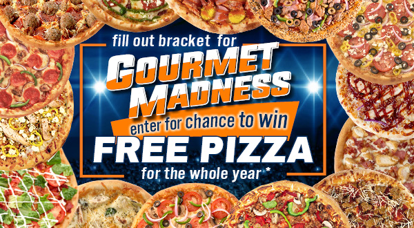 Free Pizza for a Year