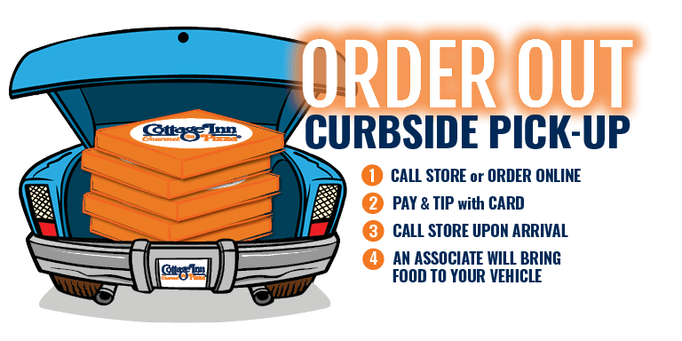 Order out with Curbside Pickup!